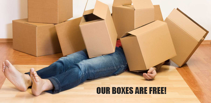 OUR BOXES ARE FREE