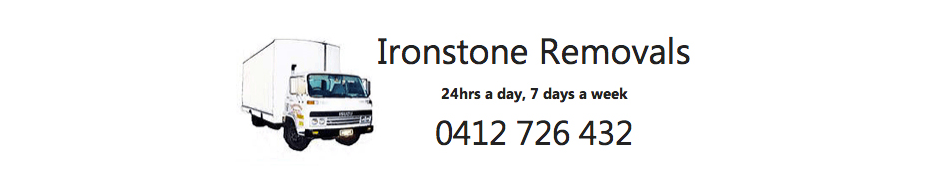 Ironstone Removals logo