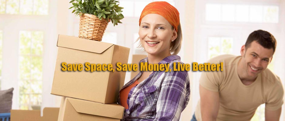 People using free storage in South Eastern Suburbs, Melbourne