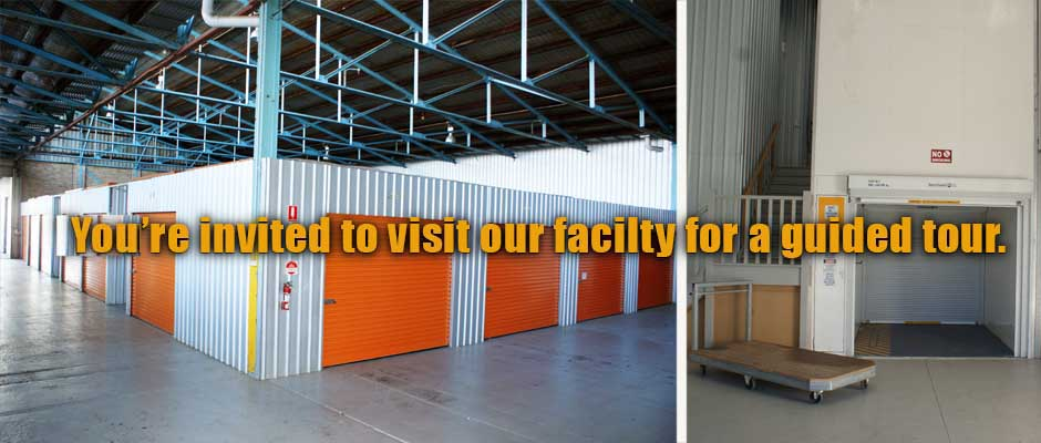You're invited to visit our facilty for a guided tour.