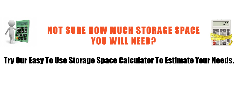 Not sure how much storage space you will need?